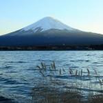 富士山のワイド壁紙(フルHD1920x1024)
