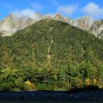秋の明神岳(フルHD1920x1080ワイド壁紙)