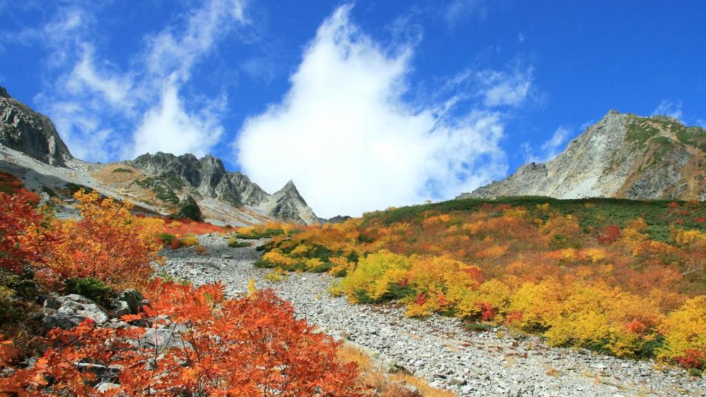 秋の涸沢カール