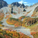 秋の涸沢全景(フルHD1920x1080ワイド壁紙)