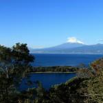 富士山、駿河湾、伊豆半島(1920×1080ワイド壁紙)