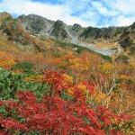 秋の穂高岳(フルHD1920x1080ワイド壁紙)