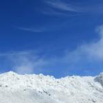 青空と星生山