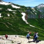 鷲羽岳から黒部源流域を望む(2014年8月カレンダー)