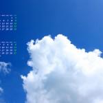 青空に入道雲