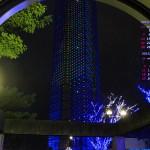 カレンダー壁紙/福岡タワーのイルミネーション