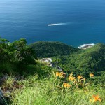 平戸 志々伎山から紺碧の海