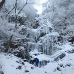 英彦山四王寺滝氷瀑