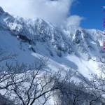 春未だ遅き雪山(伯耆大山3月)