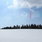 南国の雪景色(阿蘇)