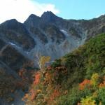前穂高岳秋景