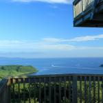 星鹿城山展望台からの風景