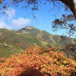 秋の飯豊山