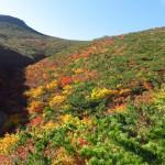 爽快、安達太良山の秋