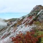 霧氷の谷川岳