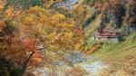 秋の涸沢小屋(フルHD1920x1080ワイド壁紙)